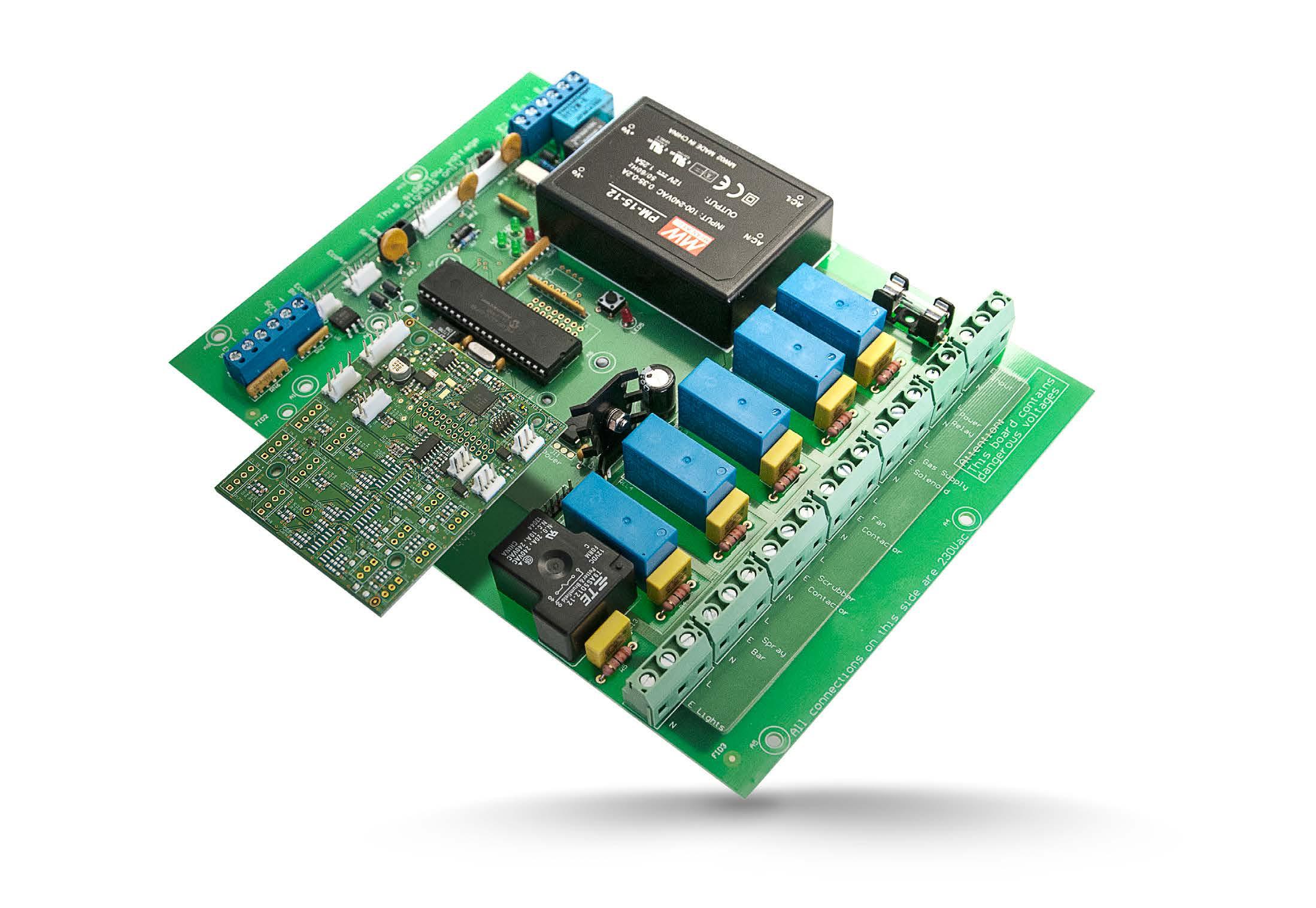 EcoAirlll VAV Fume Cupboard controller